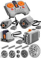 Lego Power Functions Set 2-s (technic,motor,receiver,remote,speed,pulley,gear)