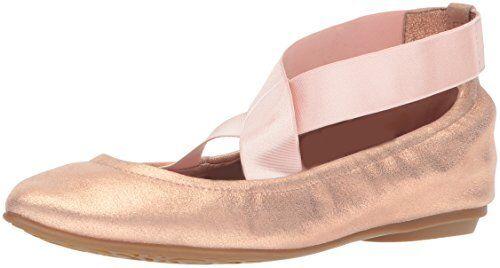 Taryn Rose Rose Rose Femme Edina Poudre Métallique Ballet Flat-Sélectionnez La Taille couleur. e2d822