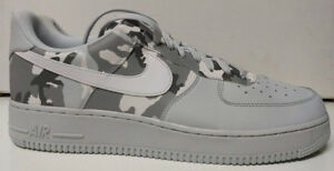 9352bab52538f Nike Air Force 1 '07 LV8 Low Size 13 Reflective Winter Camo Platinum ...