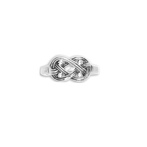 Sterling Silver Celtic Weave Design Irish Ring New