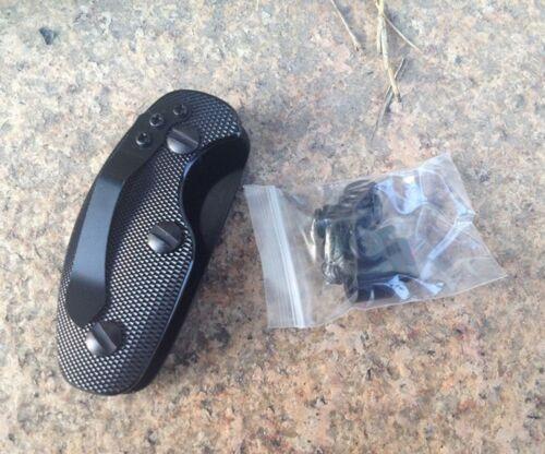 EDC Pliable Key Organizer clip dossier poche outil clé en aluminium Porte-clés US