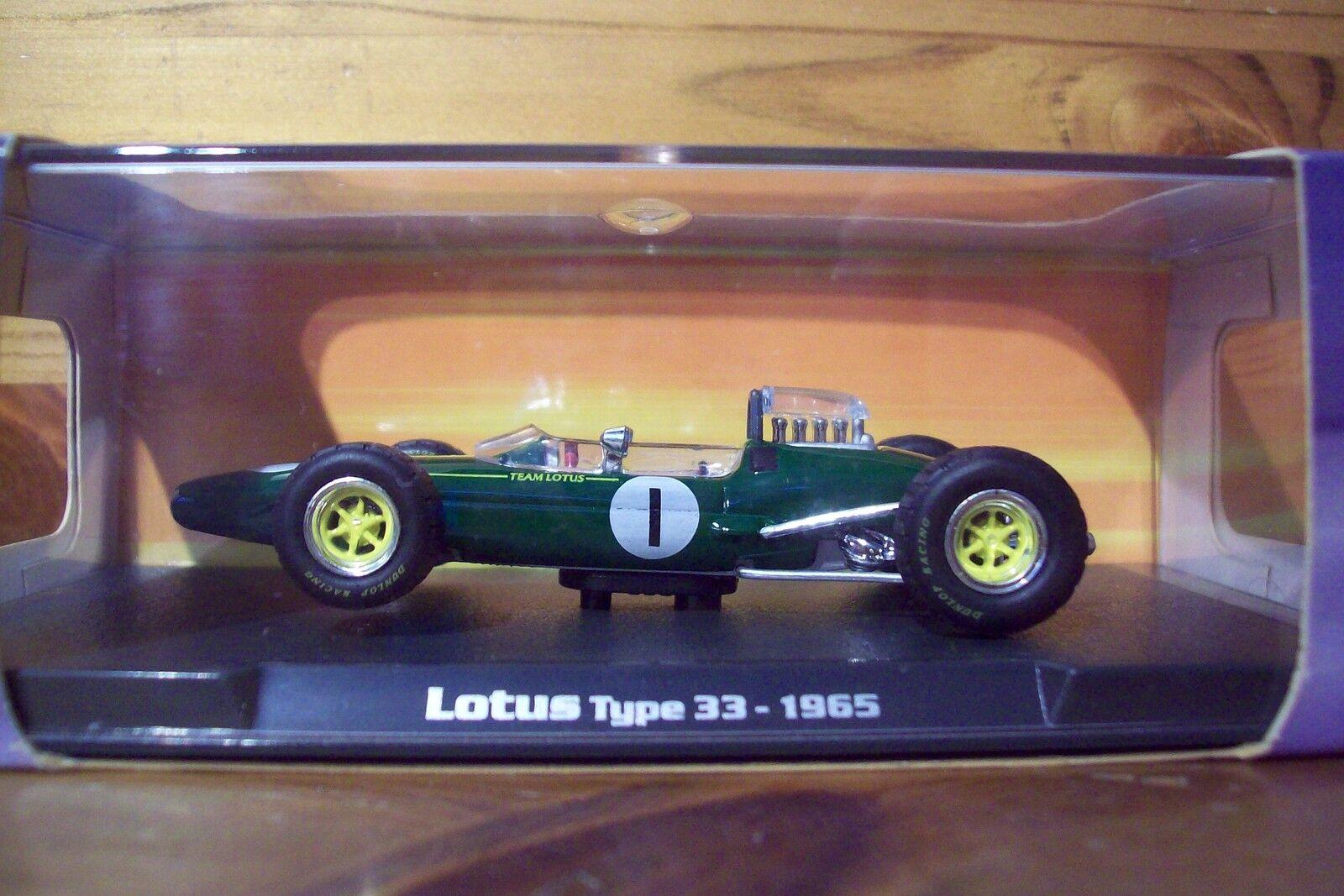 1 43 RBA 1965 LOTUS TYPE 33 Jim CLARK Champion du monde 1965