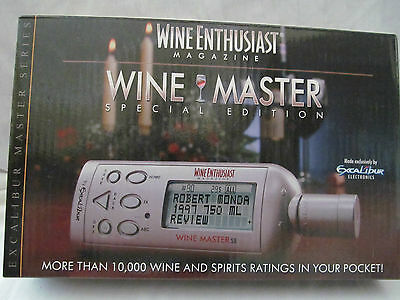 Other Bar Tools & Accessories Home & Garden Brand New In Box Excalibur Wine Enthusiast Magazine Wine Master Special Edition Refreshing And Beneficial To The Eyes