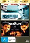 The Insomnia  / Recruit (DVD, 2008, 2-Disc Set)