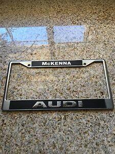 McKenna Audi Dealer Norwalk CA License Plate Frame EBay - Mckenna audi