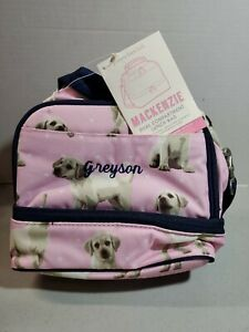Pottery Barn Kids Dual Compartment Lunch Bag New Pink