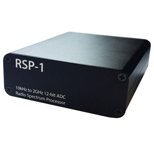Metal Case Upgrade for SDRplay RSP-1 Including Broadcast FM Bandstop Filter