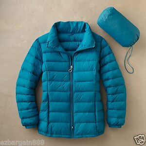 New 150 Travelsmith Women S Packable Down Sweater Jacket
