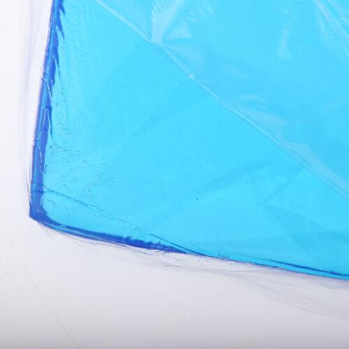 Motorrad Sitz Gel Pad Dämpfung Matte Komfortable Weiche Kissen Blau 48 x 35