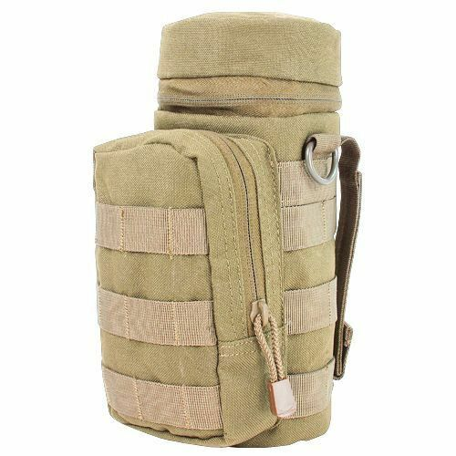 2742df0f32f2 Condor H2o Pouch Ma40 Coyote Tan Tactical MOLLE Naglene Water Bottle Carrier  for sale online