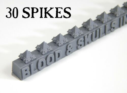 Square//Large//Short Spikes