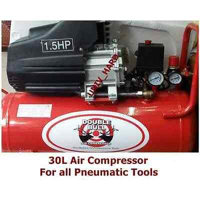 30L Air Compressor For All Pneumatic Tools, Car, Furniture,Painting.