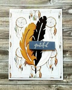 Handmade-Thank-You-Card-Grateful-Bohemian-Feathers