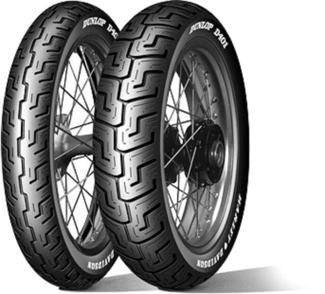 Harley neumáticos 150/80 B 16 77h Dunlop d401 herst. DAT. Dot 12/19
