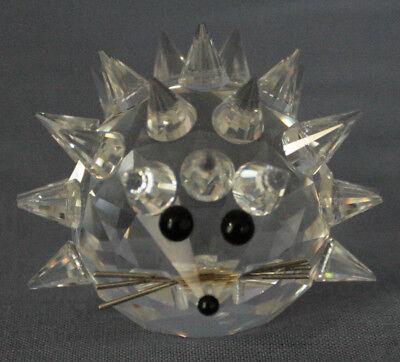 Swarovski Kristall, Figur: Igel Mit Swarovski Logo Moderater Preis