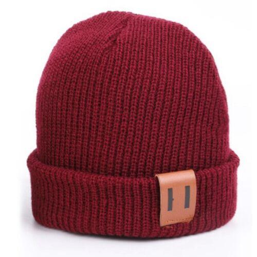 Newborn Kid Boy Girl Winter Warm Hat Knitted Woolen Headwear Beanie Cap Hats New