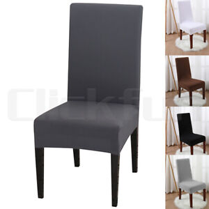 Stretch-Chair-Cover-Seat-Covers-Spandex-Lycra-Washable-Banquet-Wedding-Party-NEW