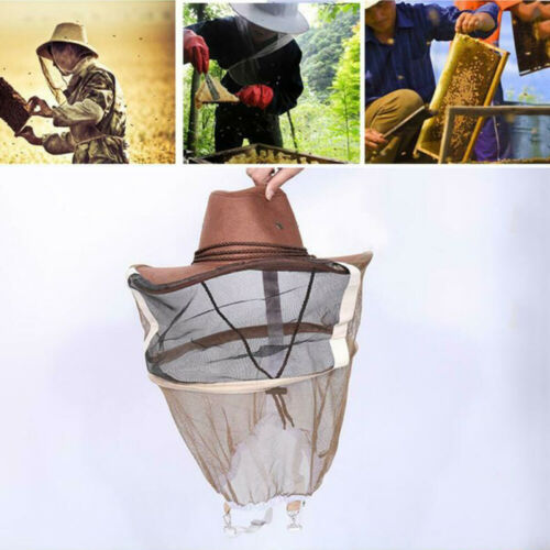 Mesh Face Protector Head Beekeeping Insect Protector Shield Safety Veil Net