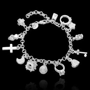 European-Charm-Bead-Silver-Bracelet-Women-DIY-Bangle-Pendants-Fashion-Jewelry