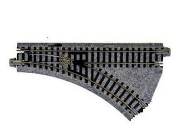 Kato 20-241 - elektrische Weiche rechts 45 Grad, 150 mm - Spur N - NEU