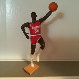 Hakeem Olajuwon Houston Rockets 1988 SLU Starting Line Up Loose Kenner The dre