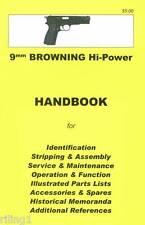 Browning Hi-Power Assembly, Disassembly Manual 9mm
