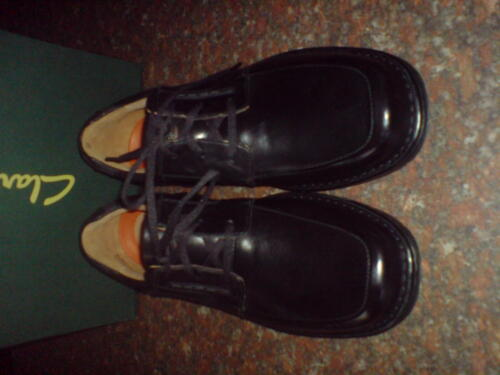 Un Uk Clarks Soft Us Extra 7 para Formal Shoe hombre 6 Black Told fwrn8REwq
