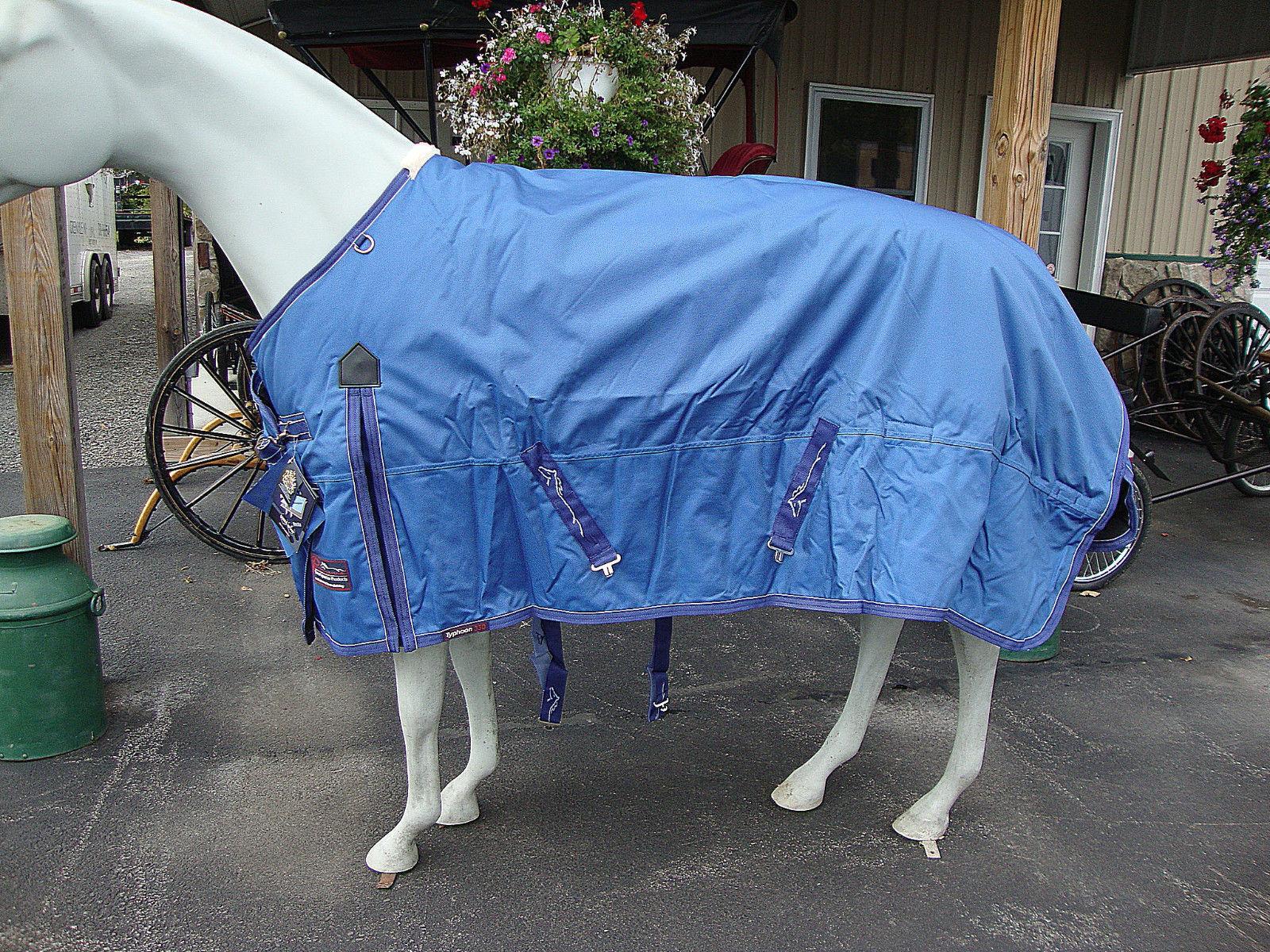 SHIRES EQUESTRIAN TYPHOON HORSE BLANKET SIZE 69  (330 GRAM)