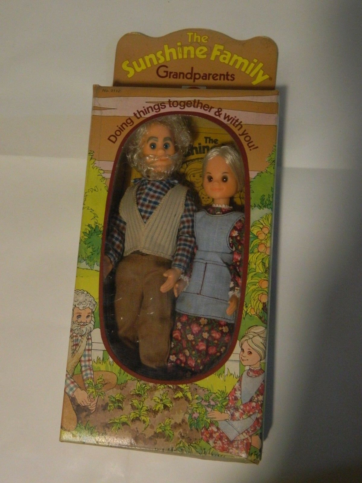 BARBIE® DA COLLEZIONE THE SUNSHINE FAMILY GRANDPARENTS 9112 MATTEL NUOVO