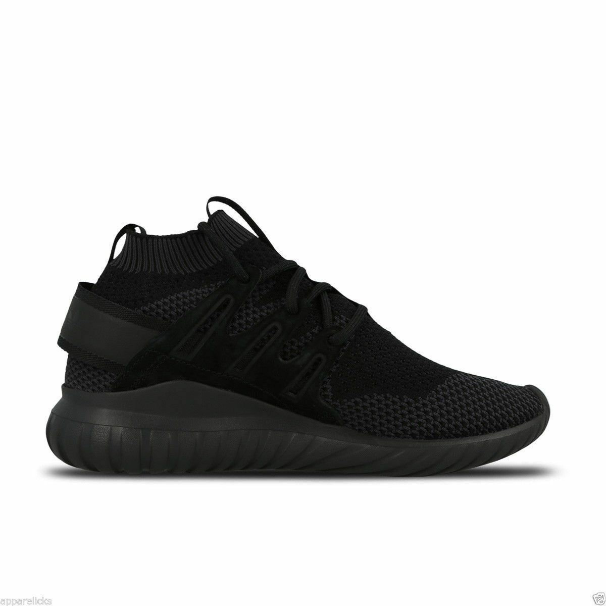 Adidas Men's Tubular Nova Primeknit Trainers Fitness Fitness Fitness Gym Active Black White a3fb64