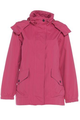 Ladies Size 20 22 24 Jacket Waterproof Windproof Coat Navy Blue Pink 70/% OFF RRP