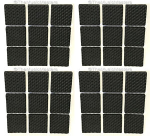36 Foam Rubber Furniture Floor Scratch Protector Bumper Pads Non-Skid Self Stick