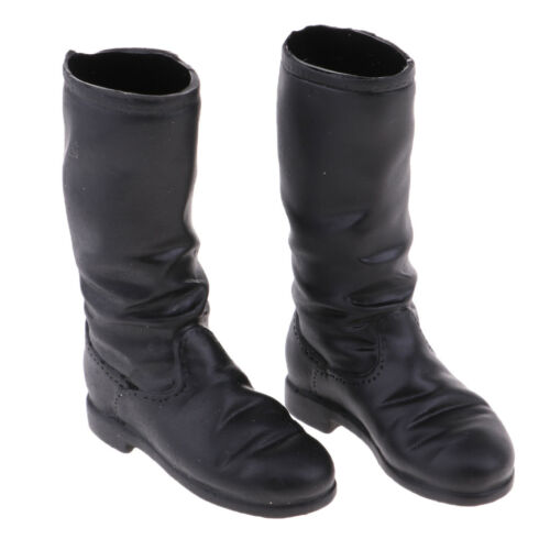 1//6 Scale Women Solider Low-heeled Boots for 12/'/' Phicen Action Figure Doll