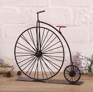 Retro black bike bicycle model home decor table decoration for Bicycle decorations home