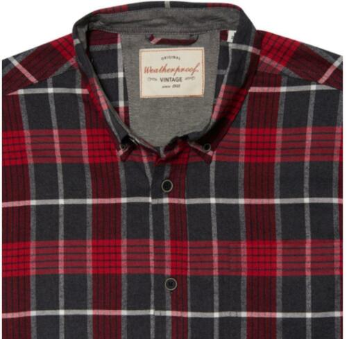 VARIETY NEW STYLES//COLORS NEW MEN/'S WEATHERPROOF VINTAGE FLANNEL SHIRT