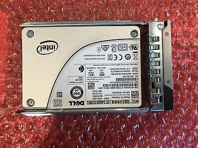 "Dell Intel DC S4600 960GB SATA 2.5/"" 6G SSD solid state drive TR3MY R740 tray"