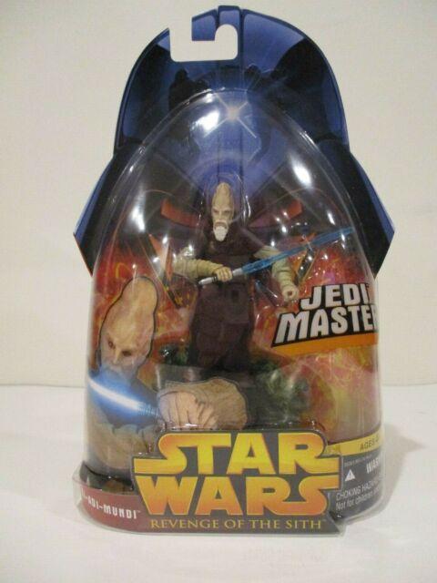 Hasbro Star Wars ROTS Ki-Adi-Mundi Jedi Master 29 New 2005
