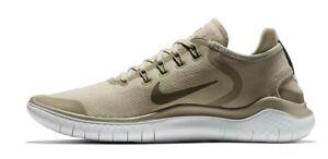 Détails sur HOMME Nike Free Rn 2018 Soleil Chaussures Olive AH5207 200