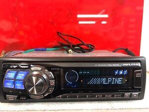 Image Is Loading Alpine Cda 9831r Top Spec Car Radio Stereo