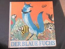 Der Blaue Fuchs-Märchen-Fabel-Nils Werner-DDR Bilderbuch