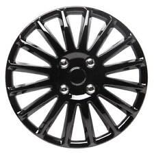 TopTech Speed 14 Inch Wheel Trim Set Gloss Black Set of 4 Hub Caps Covers
