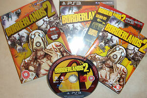 SONY-PLAYSTATION-3-PS3-GAME-BORDERLANDS-2-II-PREMIERE-CLUB-EDITION-COMPLETE-VGC