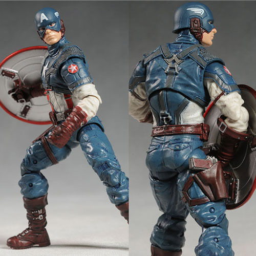Marvel the Avengers Captain America 20cm Action Figure PVC Model Collectible Toy