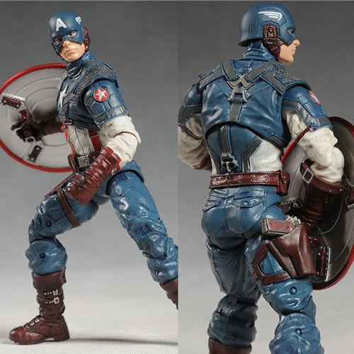 Marvel the Avengers Captain America 20cm Action Figure PVC Model Collectible Toy