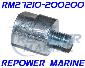 ANODE ZINC 20MM YANMAR 1GM//1GM10 27210-200200