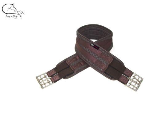 HY Confort Gaufre élastique à la fois fin Saut concours long de circonférence noir//marron Free p/&p