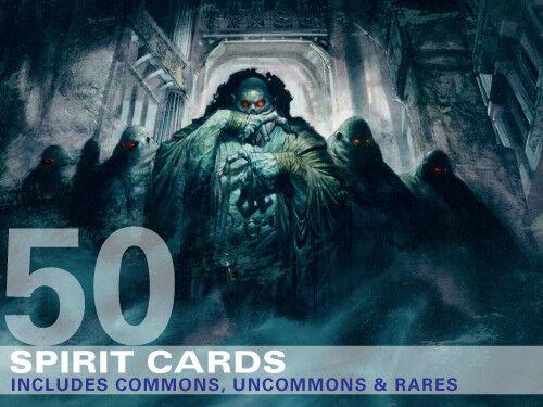 50 Card Lot Collection Deck Includes Rares! 50X Spirit Cards MTG Magic