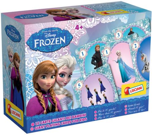 Frozen Disney Carte Giganti Dei Bambini LISCIANI GIOCHI