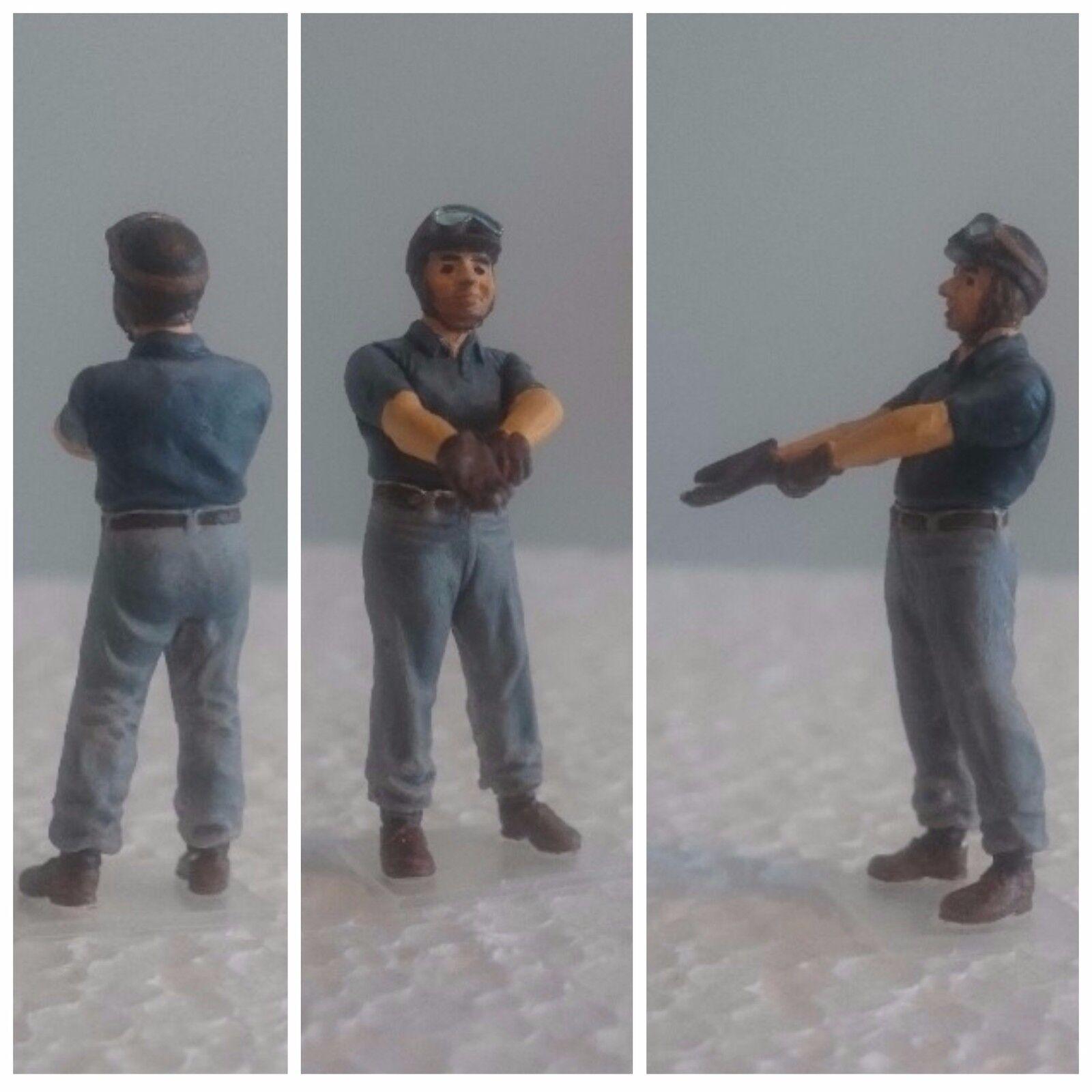 Juan Manuel FANGIO figurine pilote diorama 1 1 1 43 F1 driver figure c1e100