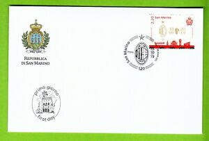FDC-BUSTA-SAN-MARINO-2019-F-D-C-120-ANNI-DEL-MILAN-1899-1999-FIRST-DAY-COVER